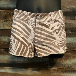EXPRESS Distressed Cut Off Shorts